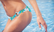 One or Three Brazilian Waxes or One Bikini Wax at Studio Green (Up to 53% Off)