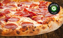 Pizza Meal for Two or $10 for $20 Worth of Italian Cuisine at A'mis Italian Restaurant 