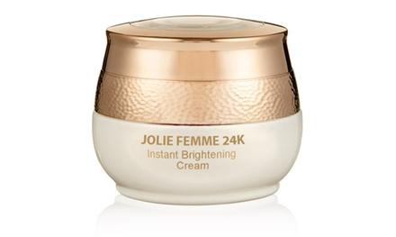 Jolie Femme 24K Instant Brightening Cream, 1.7 fl. oz.