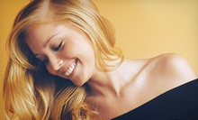 Haircut and Style with Hairtini Treatment and Optional Partial Highlights at Color Room Salon & Day Spa (Up to 58% Off)