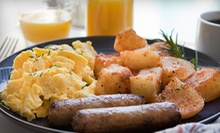 Classic Diner Breakfast at SJ's Sports Grill (Half Off). Two Options Available.