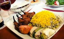 Persian Cuisine for Two or Four at Persia Cuisine (Half Off)