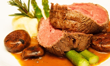 Mediterranean Dinner for Two or Takeout or Catered Mediterranean Food at Pomegranate Restaurant (Up to 62% Off)