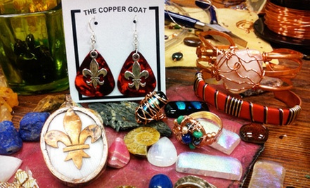 $15 for $30 Worth of Jewelry at The Copper Goat