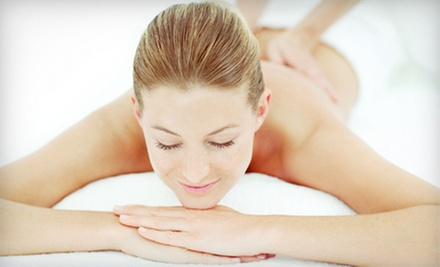 60-Minute Custom Massage with Aromatherapy or Three 30-Minute Massages at The Healing Power Of Touch (Up to 53% Off)