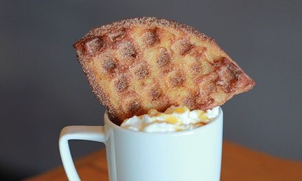 Coffee and Waffles at TIABI Coffee & Waffle Bar (Up to 41% Off)