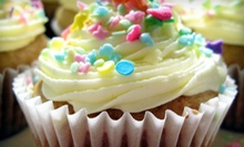 One Dozen or Two Dozen Cupcakes or Cake Pops at Sweet Flour Pots (Up to 55% Off)