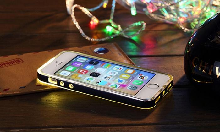 ipm led flash light up notification case for iphone 6 groupon. Black Bedroom Furniture Sets. Home Design Ideas
