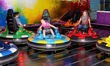 Bumper-Car Rides and Arcade Credits at The Factory (Up to 46% Off). Two Options Available.