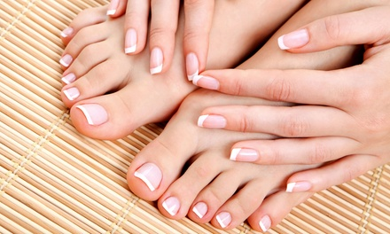 Mani-Pedi or $25 for $50 Worth of Beauty Services at J Ashley Salon (Up to 54% Off)
