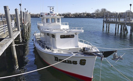 Half day fishing charter donna g groupon for Sheepshead bay fishing boats
