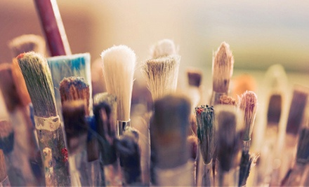 BYOB Painting Class for One, Two, or Four at The Painted Parrot (Up to 54% Off)
