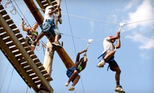 Ropes-Course Adventure at Shiloh Camp on June 22 or July 6 (52% Off)