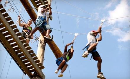Ropes-Course Adventure at Shiloh Camp on May 25, June 22, or July 6 (52% Off)