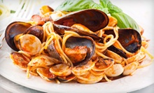 Italian Cuisine and Drinks for Dinner at The Vines Pasta Grill (Half Off). Two Options Available.