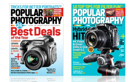 1-Year Subscription to Popular Photography Magazine