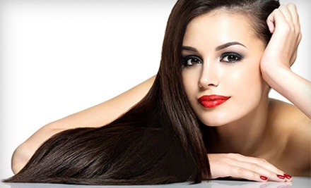 $79 for Keratin Hair-Smoothing Treatment at SalonBar ($350 Value)