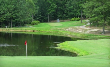 18-Hole Round of Golf with Cart and Range Balls for Two or Four at Indian Trail Golf Course (Up to 53% Off)