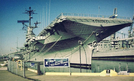 Visit for Two or Four to the USS &quot;Hornet&quot; Museum (Up to 55% Off)