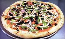$18 for Gourmet Pizza Meal with Appetizers and Drinks at Pizza World (Up to $36.57 Total Value)