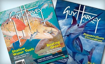"$10 for One-Year Subscription to ""Guy Harvey Magazine"" ($24.95 Value)"