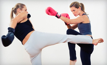Kickboxing Boot Camp or Kids' Tae Kwon Do Classes at Maspeth Kickboxing (Up to 83% Off). Four Options Available.