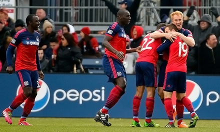 One Ticket  to a Chicago Fire Soccer Match with Popcorn or Soda at Toyota Park on August 2 or 10 (Up to 52% Off)