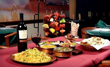 Three-Course Meal with Drinks for Two or Four or $10 for $20 Worth of Indian Fare at New Delhi Palace