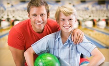 Two Bowling Games for Two, Four, or Eight with Shoe Rental and a Food Voucher at Poplar Creek Bowl (Up to 55% Off)