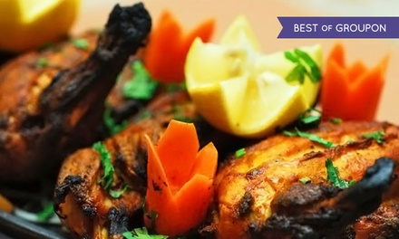 $25 for $40 Worth of Indian Dinner Cuisine at The Indian Harvest