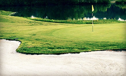 18-Hole Round of Golf for Two or Four with Cart Rental and Range Balls at Saddle Creek Golf Club (Up to 56% Off)