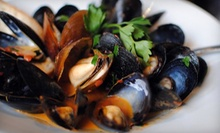 $55 for a Three-Course Italian Dinner with Bottle of Wine for Two at Intermezzo (Up to $126 Value)