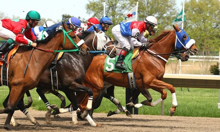 $30 for a Horseracing Package for Four at Monmouth Park Race Track ($63 Value)