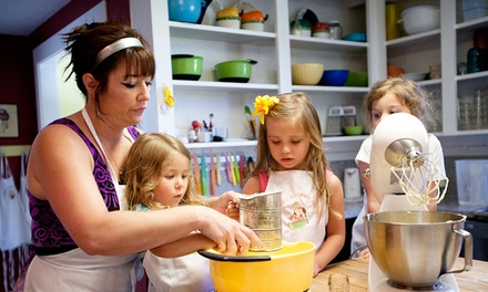 One or Three Cooking Classes at The Kids Cooking Corner (Up to 50% Off)