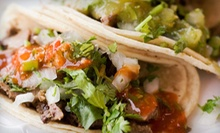 $15 for Three Visits for Mexican Food at Azul Tequila Mexican Grill ($30 Value)