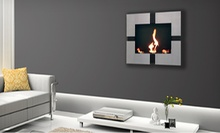 Wall-Mounted or Freestanding Fireplaces from ModFlame (Half Off). Four Options Available.