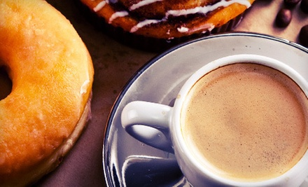 $7 for Five Hot Drinks and Donuts or Bean Bites at Beans ($16.40 Value)