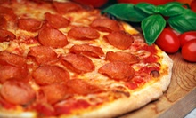 $10 for $20 Worth of Pizza, Pasta, and Sandwiches at Garlic Breath Pizza Company