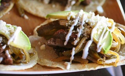 $8 for $16 Worth of Mexican Food at T/aco