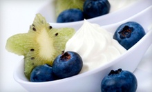 Café Food and Frozen Yogurt at Sweet Marley's Frozen Yogurt and Sandwich Bar (Up to 53% Off). Two Options Available.