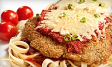 Italian Dinner with Appetizers and Drinks for Two or Four at Paganos Pizzeria (Up to 51% Off)