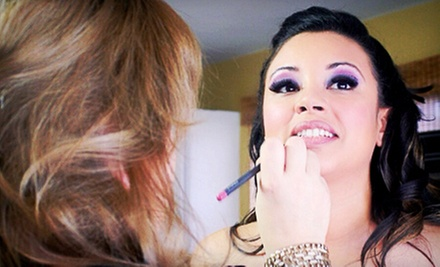 Professional Makeup Application from Perfectly Made-Up by Milena (Up to 61% Off). Three Options Available.