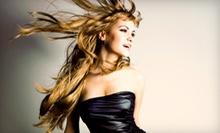 Haircut with Option for Color or Highlights from Amber at Serena Renae's Salon Spa and Fitness (Up to 58% Off)