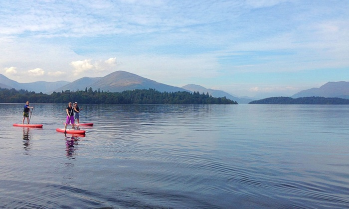Wilderness SUP - Multiple Locations: Paddle-Boarding Session from £19 with Wilderness SUP (Up to 53% Off)