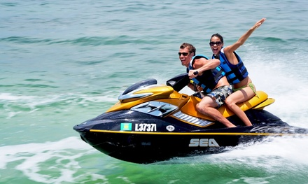 90-Minute or Three-Hour Jet-Ski Rental or Three-Hour or All-Day Boat Rental from Affordable Jet Ski (40% Off)