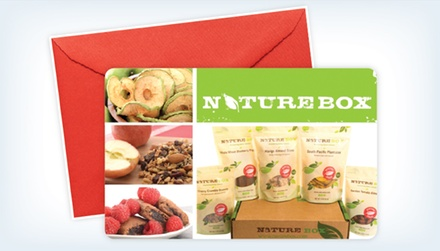 Three or Six-Month Deluxe Package Subscription to NatureBox (Up to 41% Off)