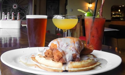 Chicken 'n' Waffles Brunch for Two or $15 or $25 Worth of American Cuisine at Cask & Trotter