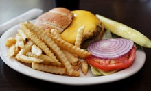 Burger Meal for Two with Appetizers or $10 for $20 Worth of American Food at Scoreboard