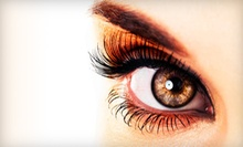 Full Set of JB Lashes Eyelash Ext. with a Touchup or a Touchup and Fill-in at Polished Nail Bar & Spa (Up to 56% Off)