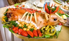 $199 for an Ultimate Pig Roast Package from Old Town Serbian Gourmet Restaurant ($500 Value)